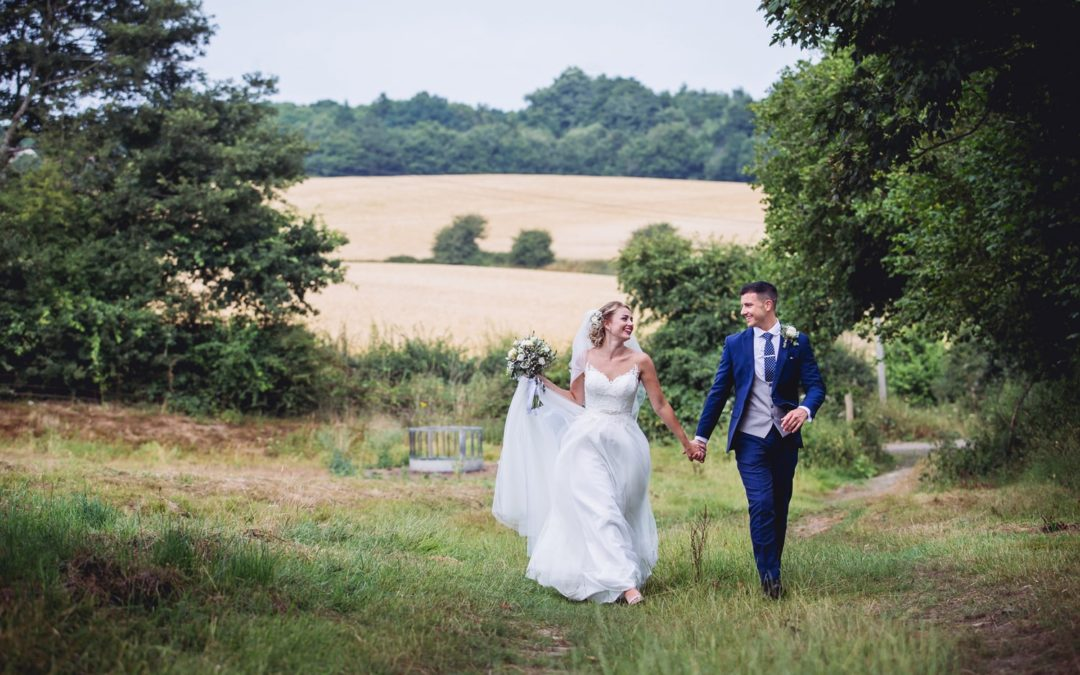 Afternoon Tea for Stacey & Murray's Quintessentially British Barn Wedding