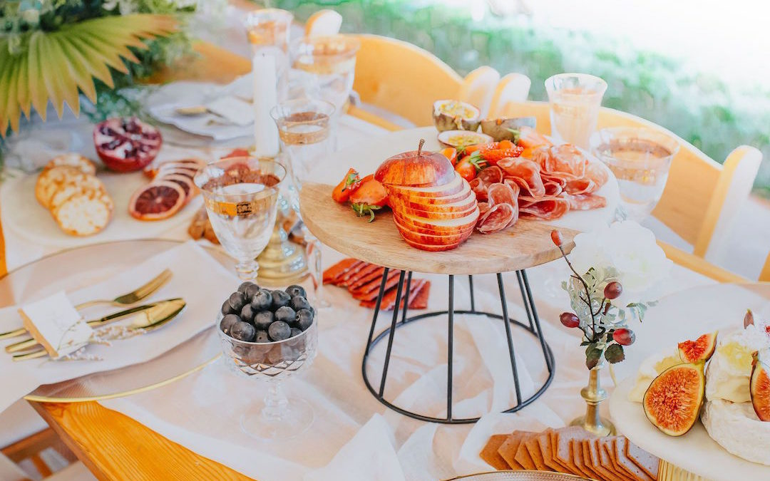 5 Hot Wedding Catering Trends for 2020