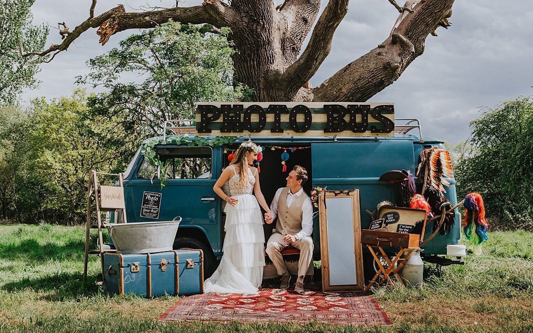 A Boho Grazing Table for a Festival Style Wedding Shoot