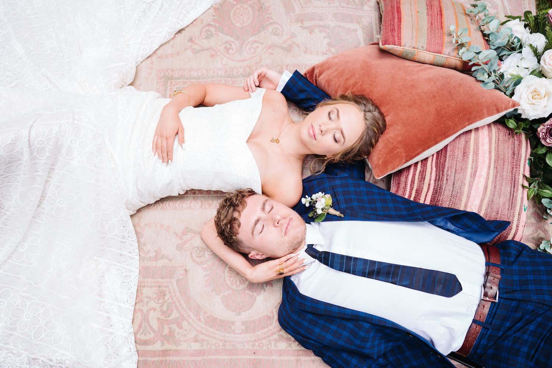 secret-garden-picnic-bride-and-groom